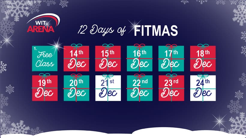 13th december first day of fitmas